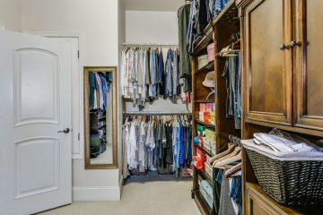 Bedroom, Walk-In, Linen, Storage, and More